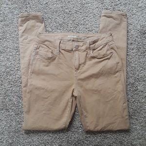 OLD NAVY khaki skinny jeans
